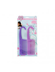 Shower Comb with Hook Assorted Colors, Case of 96