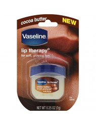 Vaseline Lip Therapy Cocoa Butter.25 oz (Pack of 2)