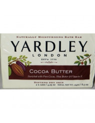 Yardley London, Cocoa Butter Bar Soap, 4.25 Oz /120 G, 2 Pk Bars, (Pack of 4) 8 Bars Total