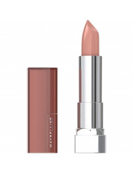 Maybelline New York Color Sensational Nude Lipstick, Satin Lipstick, Nude Lust, 0.15 Ounce (Pack of 1)
