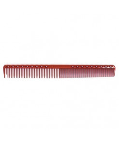 YS Park 331 Fine Cutting Comb (Extra Super Long) - Red