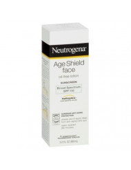 Neutrogena Age Shield Face Lotion Sunscreen with Broad Spectrum SPF 110, Oil-Free & Non-Comedogenic Moisturizing Sunscreen to Prevent Signs of Aging, 3 fl. oz (Pack of 6)