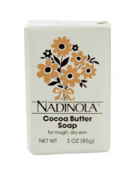 Nadinola Cocoa Butter Soap 3 oz. (Pack of 2)