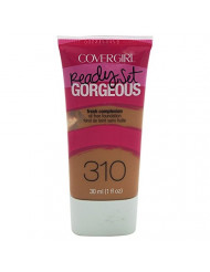 COVERGIRL Ready Set Gorgeous Foundation Classic Tan 310, 1 oz (packaging may vary)