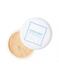 Everyday Minerals Set and Perfect Skin Tint, Pearl Finishing Dust