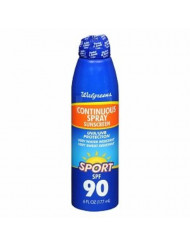 Walgreens Sport Continuous Spray Sunscreen, 6 Ounces