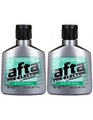Mennen Afta Pre-Electric Shave Lotion, 3 Ounce (Pack of 2)