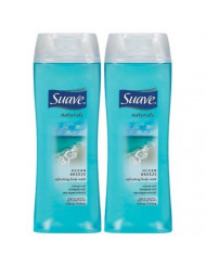 Suave Naturals Body Wash - Ocean Breeze - 15 Ounces (2 Packs)