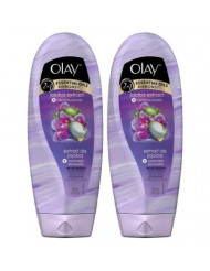 Olay Moisture Ribbons Plus Shea + Lavender Oil Body Wash, 18 oz, 2 pk