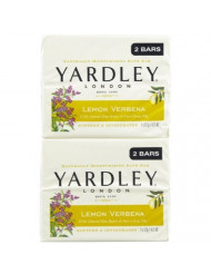 Yardley London Bar Soap - Lemon Verbena with Shea Butter - 4.25 oz - 2 ct - 2 pk