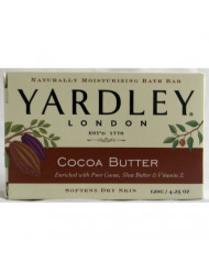 Yardley Moisturizing Bar Cocoa Butter 4.25 oz (Pack of 4)