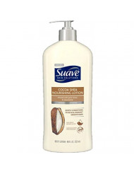 Suave Smoothing Body Lotion with Cocoa Butter & Shea - Smoothing with Cocoa Butter & Shea - 18 oz - 2 pk