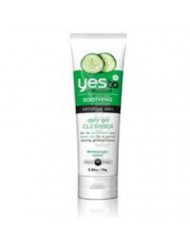 Yes to Cucumbers Soothing Daily Gel Cleanser, Sensitive Skin 3.38 oz (Pack of 1)