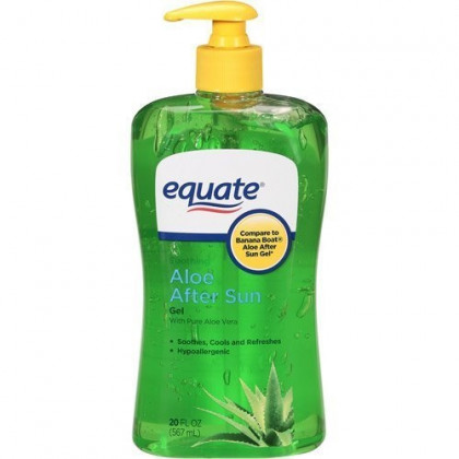 Equate Aloe Vera Aftersun Gel, 20 oz