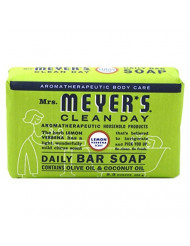 Daily Bar Soap, Lemon Verbena 5.3 Oz by Mrs Meyers (Pack of 2)