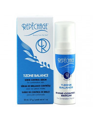 Repechage T-Zone Balance Shine Control Serum - For Combination/Oily Skin Types - The Ultimate Hydrating & Balancing Solution - Beautiful Even Looking Mattifying Finish On Face - 1 fl. oz. /29 ml