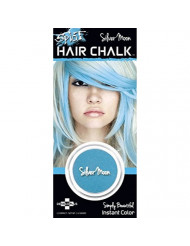 Splat Hair Chalk Instant Vibrant Color Silver Moon