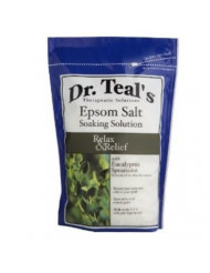 Dr. Epsom Salt Soaking Solution Relax Eucalyptus Spearmint 48 OZ (Pack of 8)