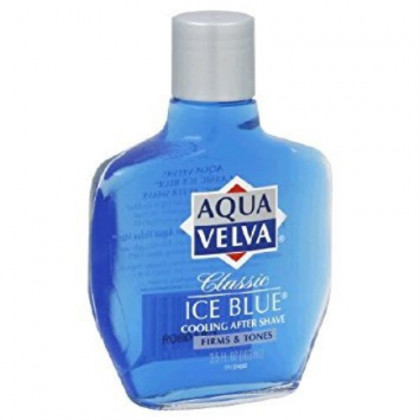 Aqua Velva Ice Blue After Shave 3.5 Ounce (103ml) (6 Pack)