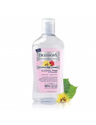 Dickinson's Enhanced Witch Hazel Hydrating Toner with Rosewater, Alcohol Free, 98% Natural Formula, 16 Fl. Oz.