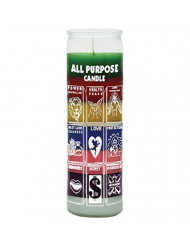 Indio Products All Purpose Candle - Silkscreen 7 Color 7 Day