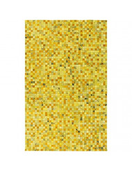 Surya Houseman HSM-4007 Hand Crafted Hair on Hide Hides and Leather Accent Rug, 2-Feet by 3-Feet