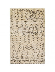 Surya Hand Knotted Casual Accent Rug, 2-Feet by 3-Feet