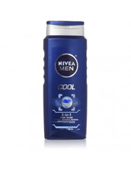 Nivea 3 in 1 Body Wash with Menthol Cool 16.9 Fl Oz (Pack of 2)