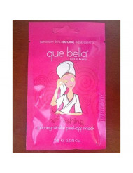 Que Bella Travel Size Refreshing Pomegranate Peel-Off Mask 0.5 fl. oz.