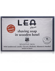 Shaving Soap Wood Bowl 3.5oz shave soap by LEA by ALE