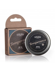 Temperance - Fragrance Free Unscented - Premium Beard Balm for Men | Dry Oil Beard Conditioner | 2 Oz Stainless Steel Tin
