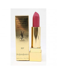 Yves Saint Laurent Rouge Pur Couture The Mats, No. 207 Rose Perfecto, 0.13 Ounce
