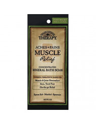 Village Naturals Aches & Pains Relief Mineral Bath Soak, Eucalyptus, Rosehips & Chamomile, 2 oz