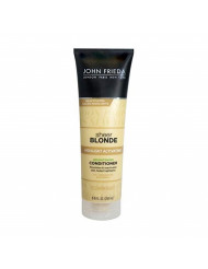 John Frieda Sheer Blonde Highlight Activating Enhancing Conditioner (For Lighter Blondes), 8.45 Oz