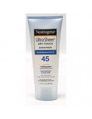 Neutrogena Ultra Sheer Dry-Touch Sunscreen SPF 45 - 2 ct - 2 pk