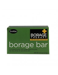 Borage Non-Soap Cleansing Bar, 4.5 Ounce