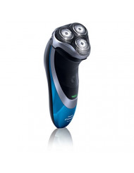 Philips Norelco AT810/41 4100 Shaver, Black/Blue, Black/Blue