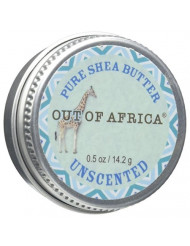 Out Of Africa Shea Butter Travel Tin, Unscented, 0.5 Ounce
