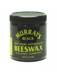 Murray's Black Beeswax, 3.5 oz (Pack of 2)