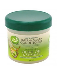 Tcb Naturals Conditioner H & S Olive Oil & Vit-E Jar 10 Ounce (295ml) (2 Pack)