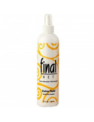 Final Net Non-Aerosol Hairspray Extra Hold Extra Firm Control, 12 Ounces (Value Pack of 2)