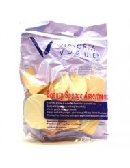 Victoria Vogue Beauty Sponges Assorted Bag (2 Pack)