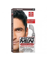 Just For Men Autostop Color #A-55 Real Black (2 Pack)