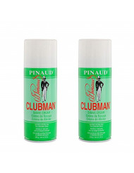 Clubman Pinaud Shave Cream, 12 oz x 2 pack