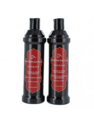 MARRAKESH Original Shampoo + Conditioner Combo Set With Hemp and Argan Oils for Unisex, 12 oz