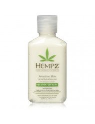 Hempz Sensitive Skin Herbal Body Moisturizer with Oatmeal, Shea Butter for Women and Men,2.25 oz. -Premium,Soothing Body Lotion with Hemp Seed, Cocoa Seed, Mango Seed for Dry Skin -Skin Care Products