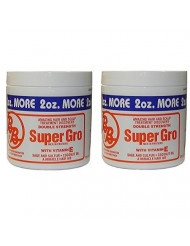Bronner Brothers Double Strength Super Gro With Vitamin E 6 Ounce (Pack of 2)