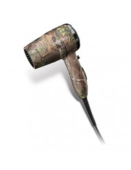 Andis 1875-Watt Quiet Turbo Tourmaline Ceramic Ionic Hair Dryer, Camo (75380)