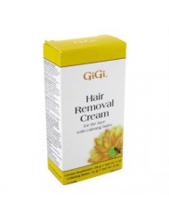 Gigi Hair Removal Cream For Face With Calming Balm (6 Pack)