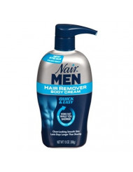 Nair Hair Remover Men Body Cream 13 Ounce Pump (384ml) (6 Pack)